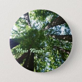 Muir Woods 3 Inch Round Button