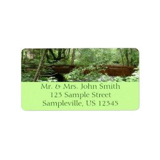 Muir Woods Bridge I Label