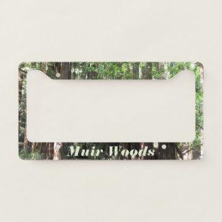 Muir Woods License Plate Frame