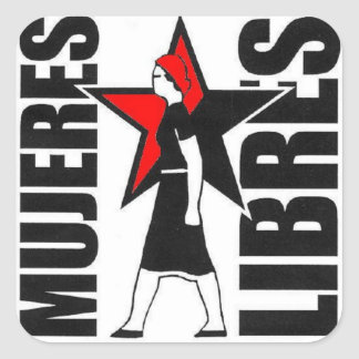 mujeres libres sticker