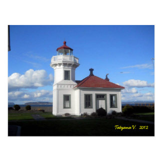 Mukilteo Light Postcard