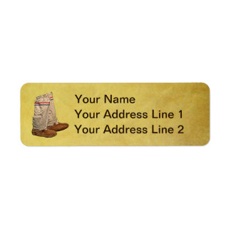 Mukluks Return Address Label