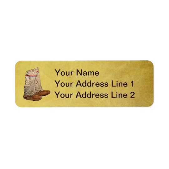 Mukluks Return Address Label