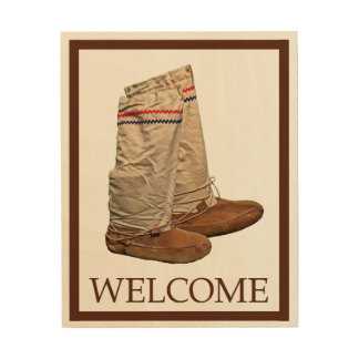 Mukluks - Welcome Wood Canvas