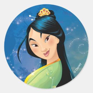 Mulan | Fearless Dreamer Classic Round Sticker