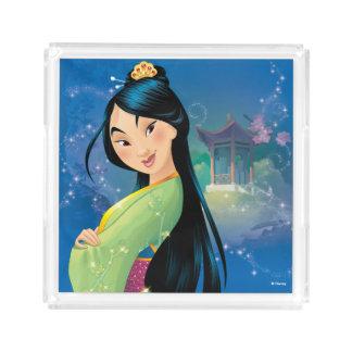 Mulan | Fearless Dreamer Serving Tray