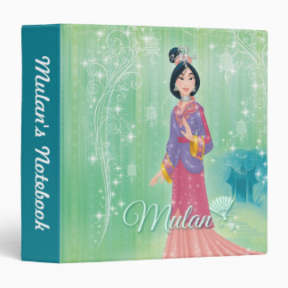 Mulan Princess Vinyl Binder