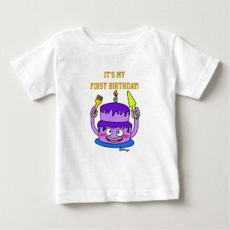 Mulberry cake of birthday t-shirt