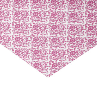 Mulberry Damask Floral Traditional Tissue Paper