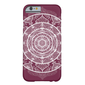 Mulberry Mandala Barely There iPhone 6 Case