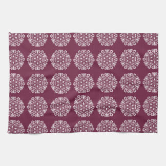 Mulberry Mandala Kitchen Towel
