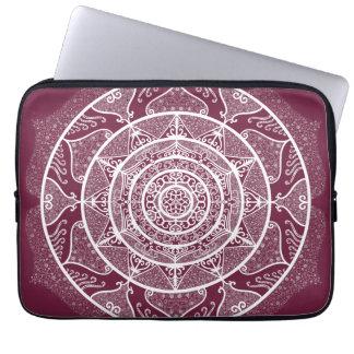 Mulberry Mandala Laptop Sleeve