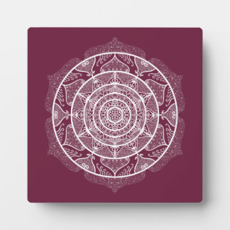 Mulberry Mandala Plaque