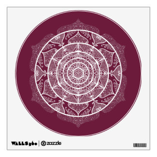 Mulberry Mandala Wall Sticker