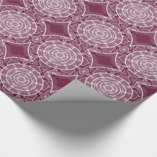 Mulberry Mandala Wrapping Paper