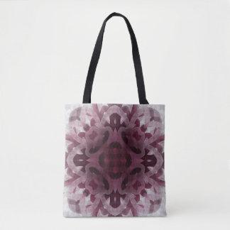 Mulberry Maze Floret Pattern Tote Bag