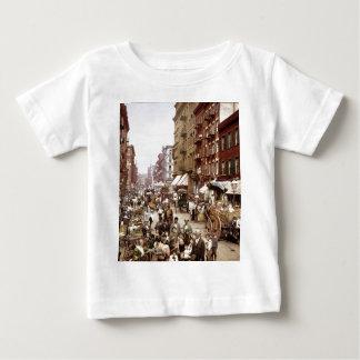 Mulberry Street NYC ca.1900 Baby T-Shirt
