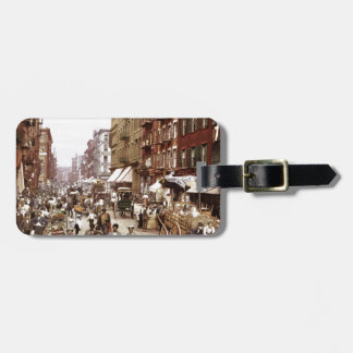 Mulberry Street NYC ca.1900 Bag Tag