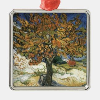 Mulberry Tree by van Gogh Metal Ornament