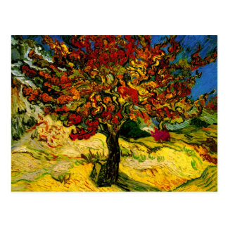 Mulberry Tree Van Gogh Fine Art Postcard