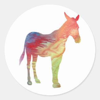 Mule Classic Round Sticker