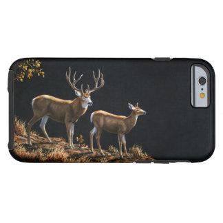 Mule Deer Buck & Doe Tough iPhone 6 Case