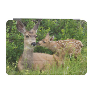 Mule Deer Doe with Fawn 2 iPad Mini Cover