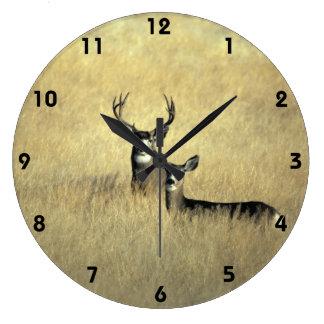 Mule Deer in California Wall Clock