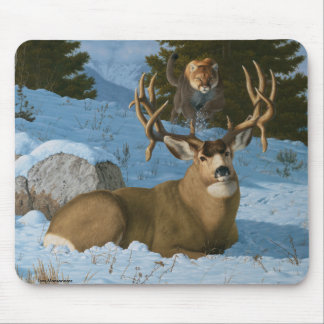 Mule Deer Mouse Pad