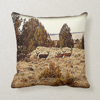 Mule Deer Pillow