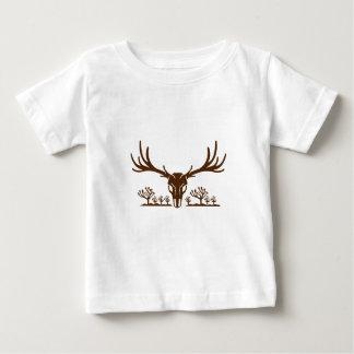 Mule Deer Skull Joshua Tree Icon Baby T-Shirt