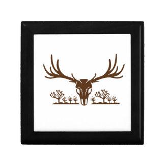 Mule Deer Skull Joshua Tree Icon Gift Box