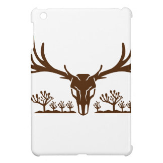 Mule Deer Skull Joshua Tree Icon iPad Mini Cover