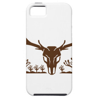 Mule Deer Skull Joshua Tree Icon iPhone 5 Case