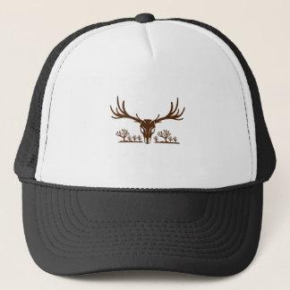 Mule Deer Skull Joshua Tree Icon Trucker Hat