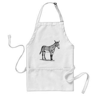 Mule Drawing, Stubborn Standard Apron