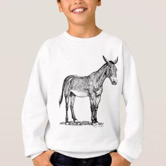 Mule Drawing, Stubborn Sweatshirt
