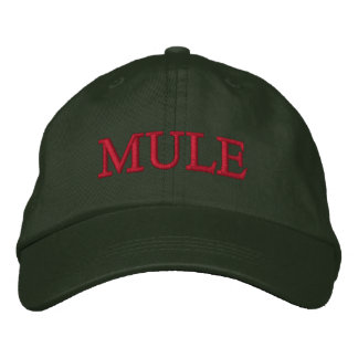 Mule Embroidered Hat