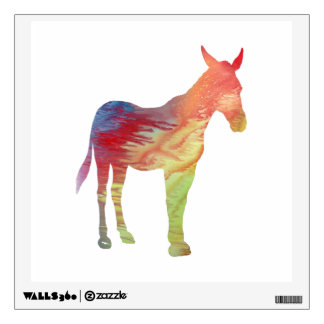 Mule Wall Sticker