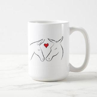 Mules in Love - Mug