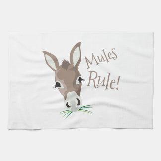 Mules Rule Towels