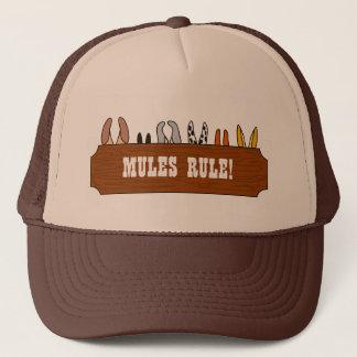 Mules Rule! Trucker Hat