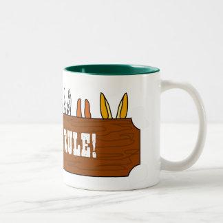 Mules Rule! Two-Tone Coffee Mug