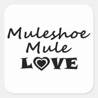 Muleshoe Mule Love Sticker