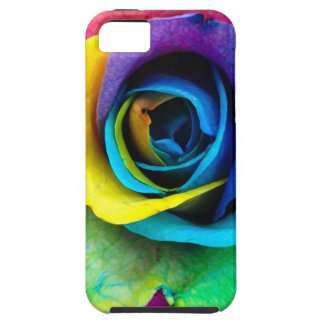 Mulit-Colored Rose by SnapDaddy, can Personalize! iPhone 5 Cases