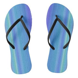 Muliticolor Flip Flops