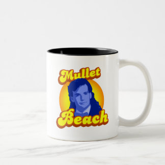 Mullet Beach Two-Tone Coffee Mug