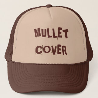 MULLET COVER TRUCKER HAT