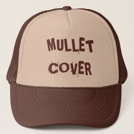 06a8b45589c MULLET COVER TRUCKER HAT