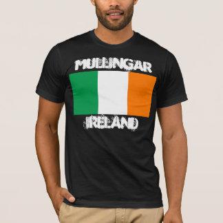 Mullingar, Ireland with Irish flag T-Shirt